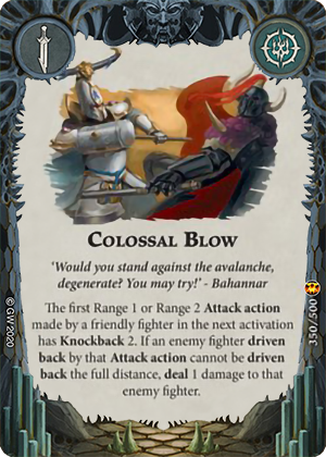 Colossal Blow card image - hover