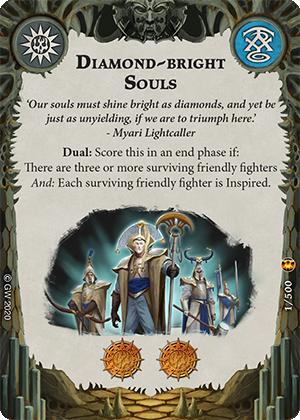 Diamond-bright Souls card image - hover