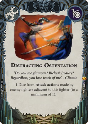 Distracting Ostentation card image - hover