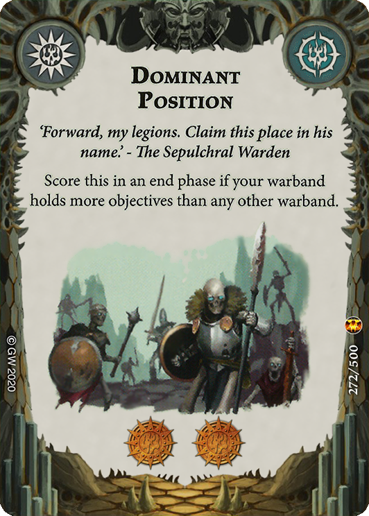 Dominant Position card image - hover