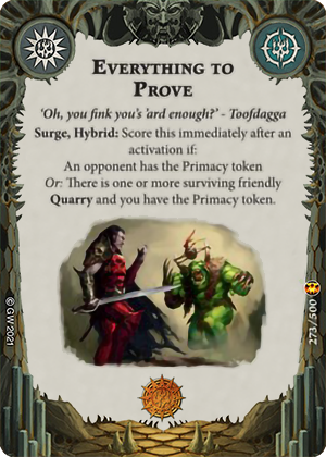 Everything to Prove card image - hover