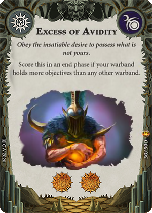 Excess of Avidity card image - hover