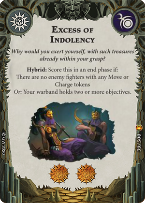 Excess of Idolency card image - hover