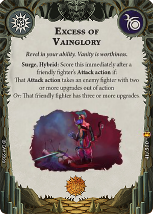 Excess of Vainglory card image - hover