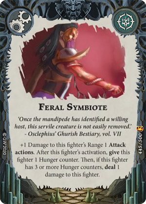 Feral Symbiote card image - hover
