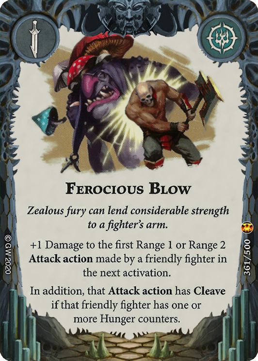 Ferocious Blow card image - hover