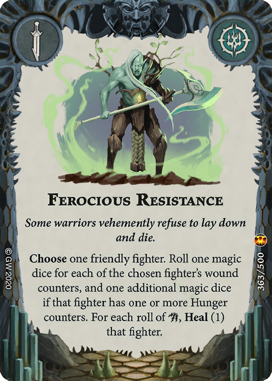 Ferocious Resistance card image - hover