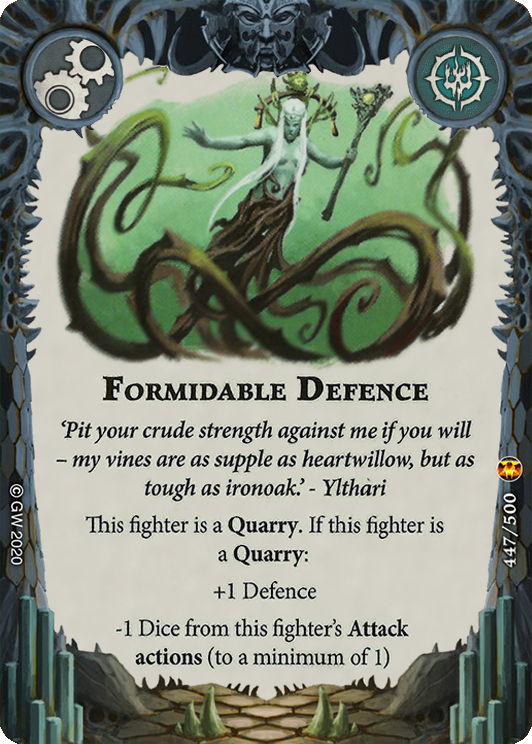 Formidable Defence card image - hover