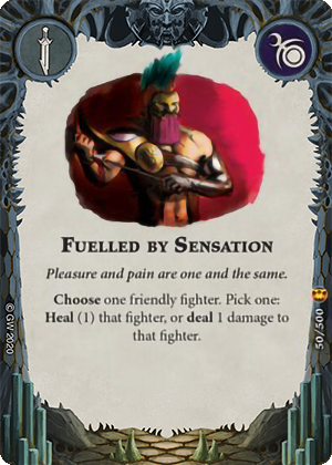 Fuelled by Sensation card image - hover