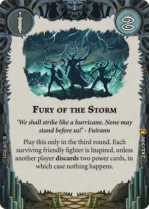 Fury of the Storm card image - hover