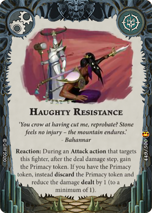 Haughty Resistance card image - hover