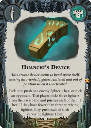 Huanchi's Device card image - hover
