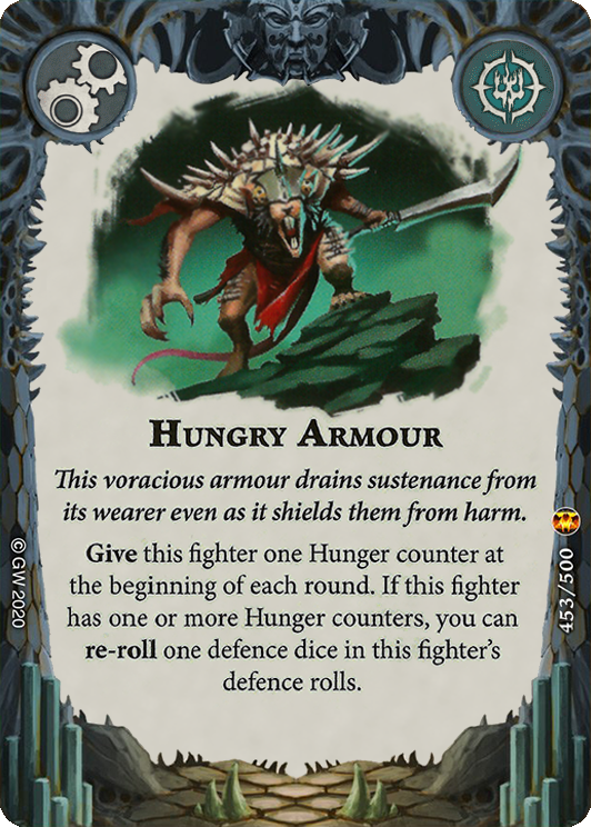 Hungry Armour card image - hover