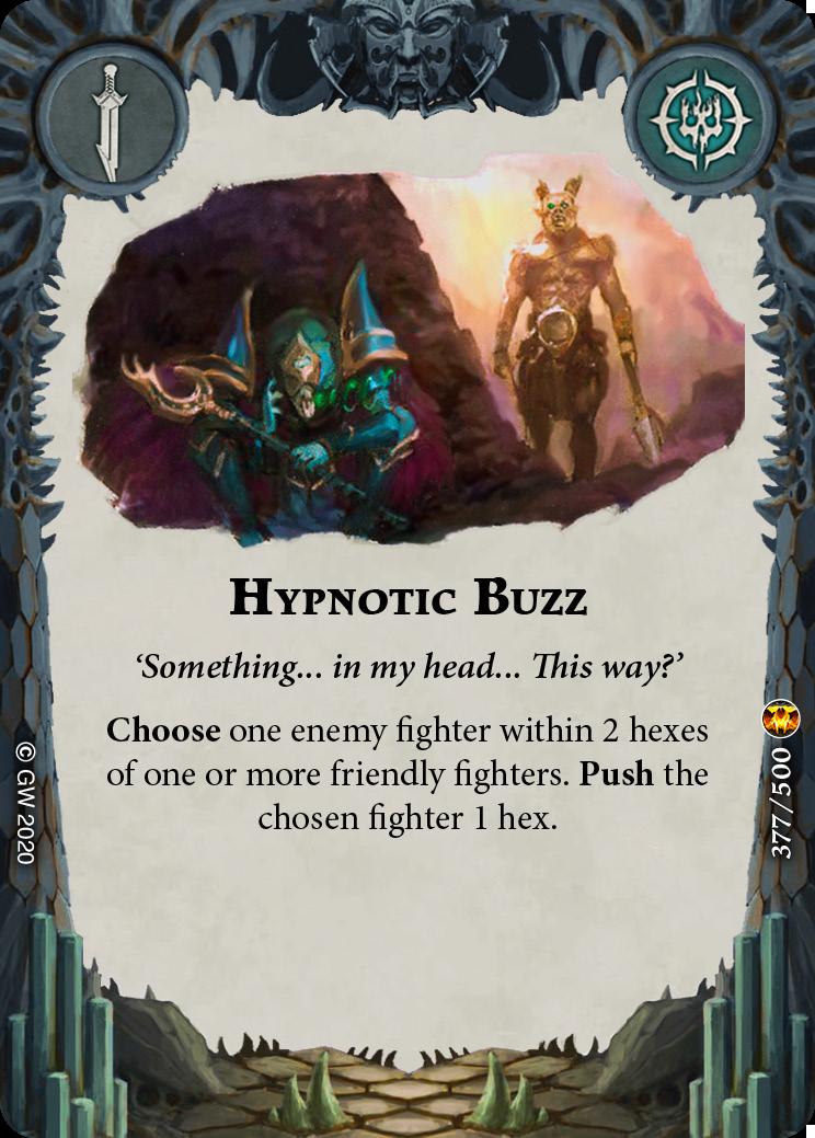 Hypnotic Buzz card image - hover