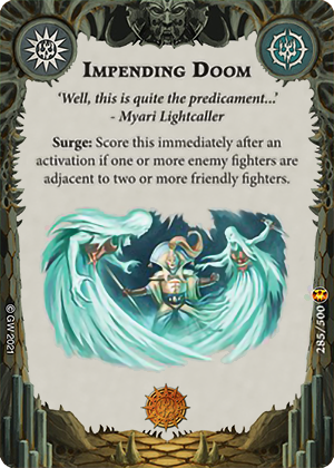 Impending Doom card image - hover