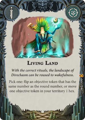 Living Land card image - hover