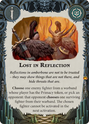 Lost in Reflection card image - hover