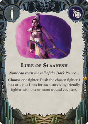 Lure of Slaanesh card image - hover
