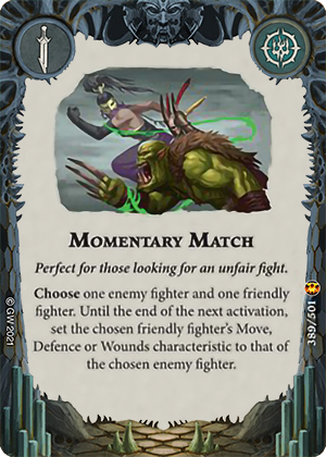 Momentary Match card image - hover