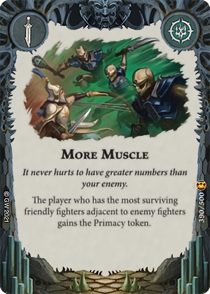 More Muscle card image - hover
