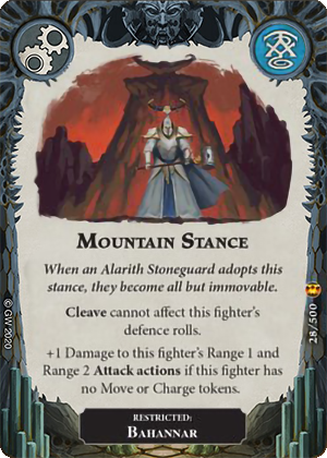 Mountain Stance card image - hover