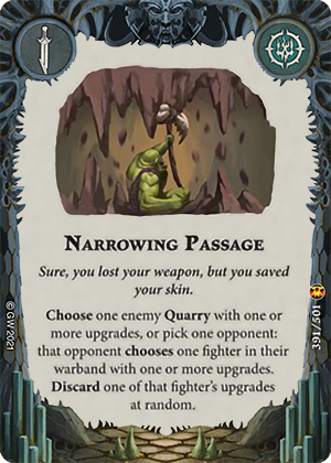 Narrowing Passage card image - hover