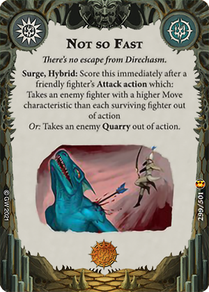 Not so Fast card image - hover