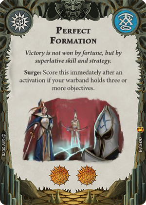 Perfect Formation card image - hover
