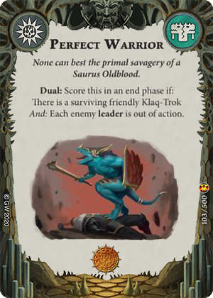 Perfect Warrior card image - hover
