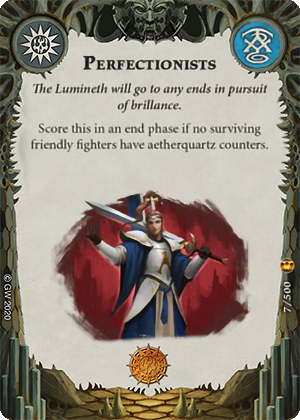 Perfectionists card image - hover