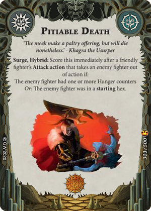 Pitiable Death card image - hover