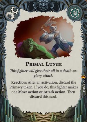 Primal Lunge card image - hover