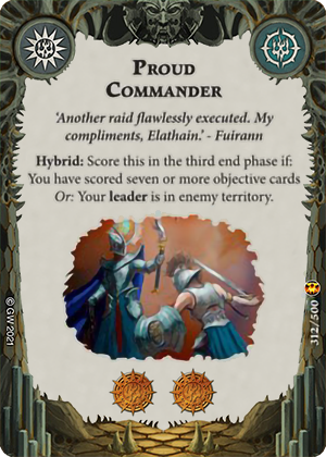 Proud Commander card image - hover