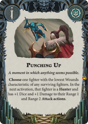 Punching Up card image - hover