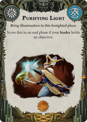 Purifying light card image - hover