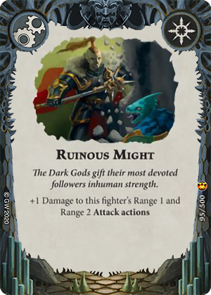 Ruinous Might card image - hover
