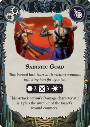 Sadistic Goad card image - hover