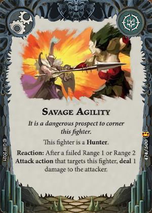 Savage Agility card image - hover
