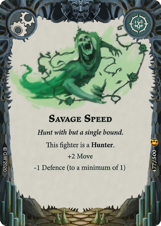 Savage Speed card image - hover