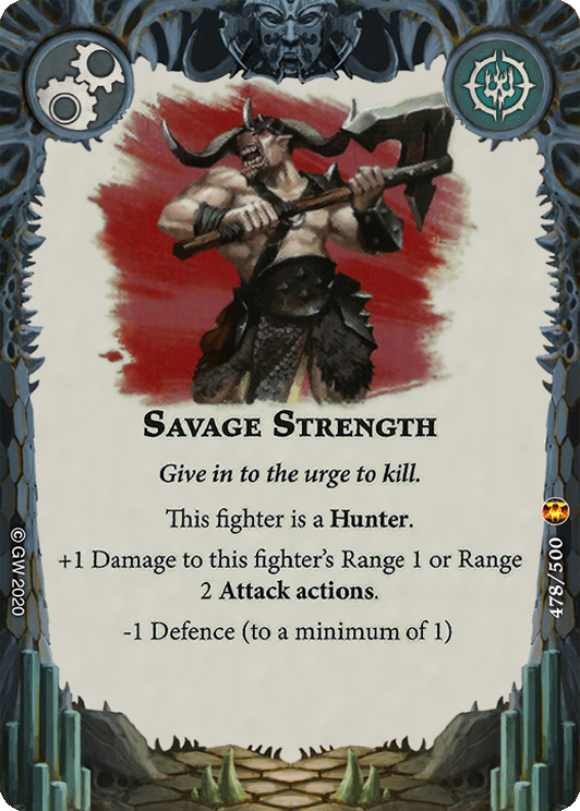 Savage Strength card image - hover