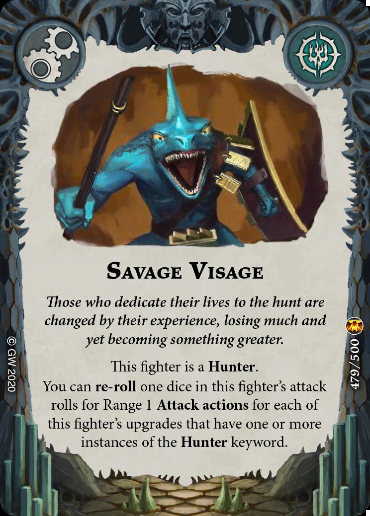 Savage Visage card image - hover