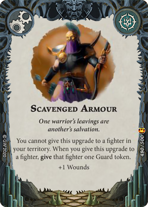 Scavenged Armour card image - hover