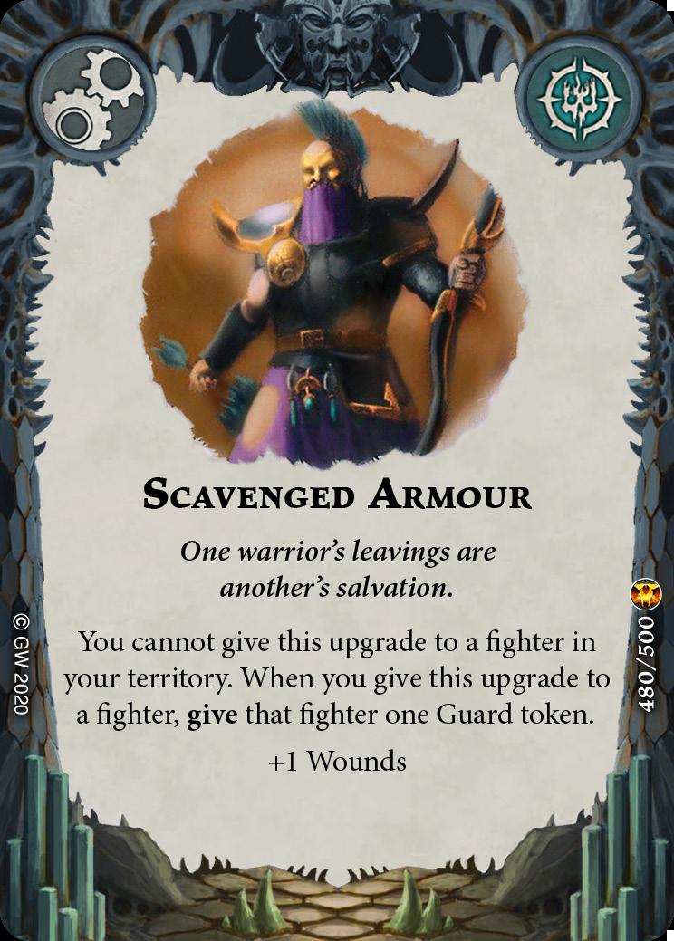 Scavenged Armor card image