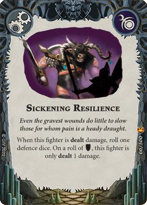 Sickening Resilience card image - hover