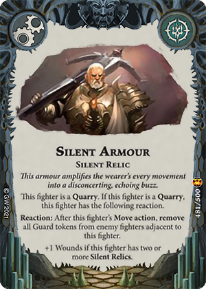 Silent Armour card image - hover