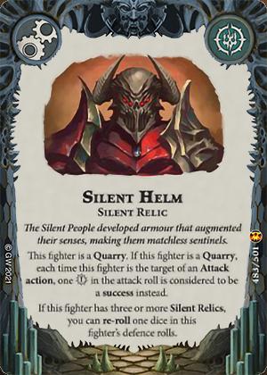 Silent Helm card image - hover
