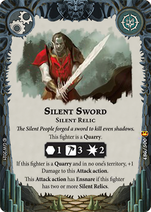 Silent Sword card image - hover