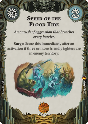 Speed of the Flood Tide card image - hover