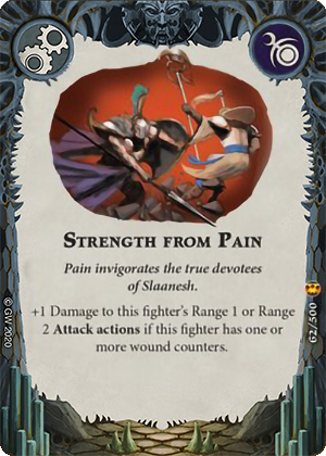 Strength from Pain card image - hover