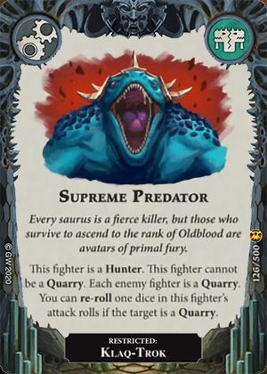 Supreme Predator card image - hover
